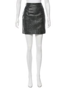 Christopher Kane Leather Mini Skirt w/ Tags