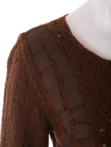 Chloe Brown Cardigan