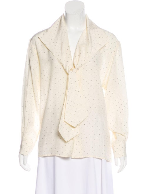 Chloé Long Sleeve Button-Up Top