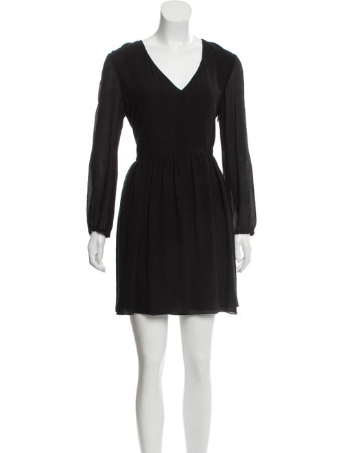Chloé Silk Seersucker Dress w/ Tags Black