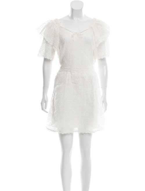 Chloé Crochet A-Line Dress