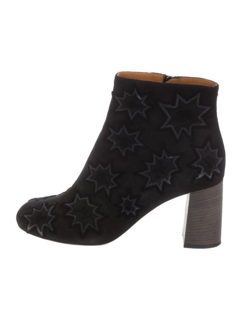 Chloé Harper Embroidered Ankle Boots