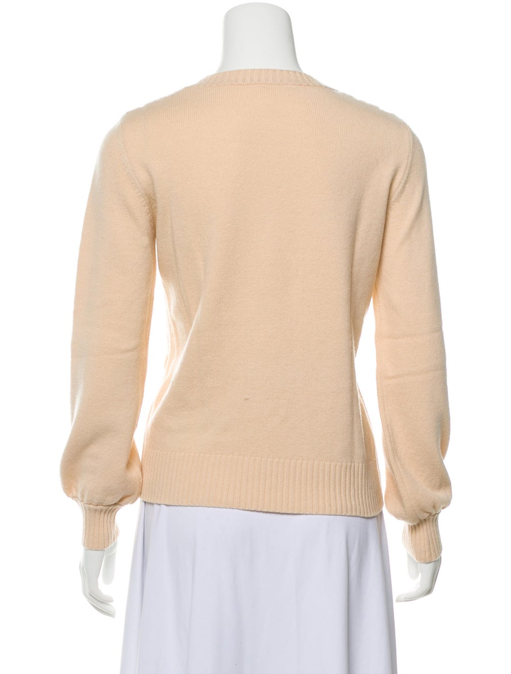 Chloé Wool Lace Sweater Pink - image 3