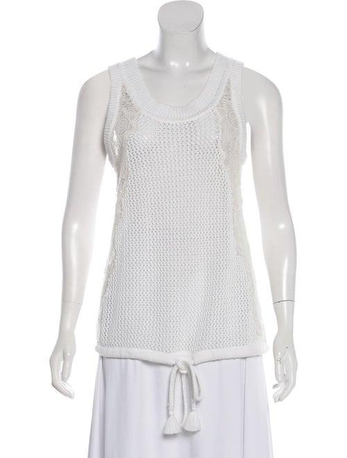 Chloé 2017 Knit Top White