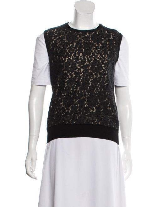 Chloé Wool & Cashmere-Blend Sweater Vest Black - image 1