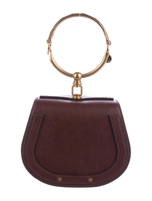 Chloé Nile Bracelet Bag Plum