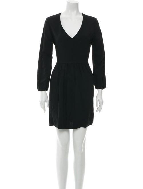 Chloé A-Line Mini Dress Black