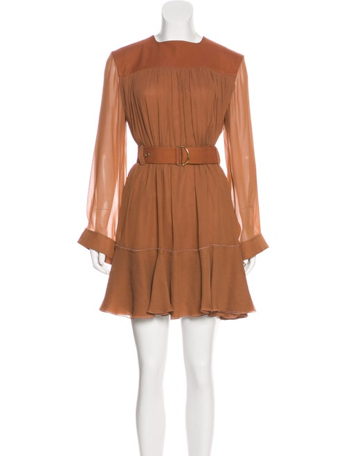 Chloé Belted Mini Dress