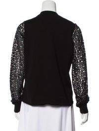 Chloé Embroidered V-Neck Sweater