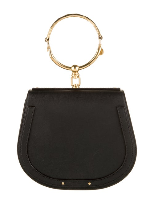 Chloé Medium Nile Bracelet Bag Black