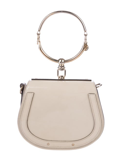 Chloé Small Nile Bracelet Bag Beige