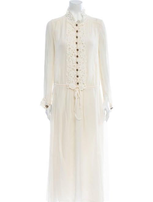 Chloé Silk Long Dress