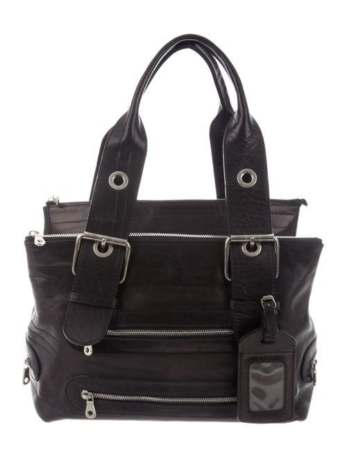 Chloé Leather Shoulder Bag Black