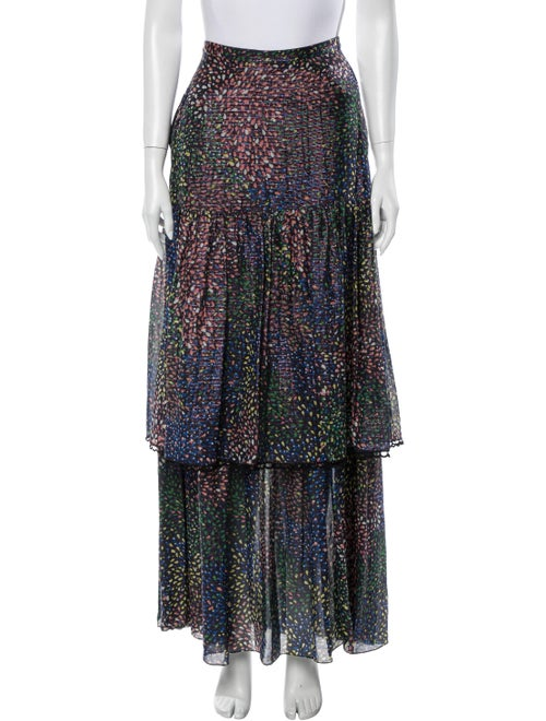 Chloé Printed Long Skirt