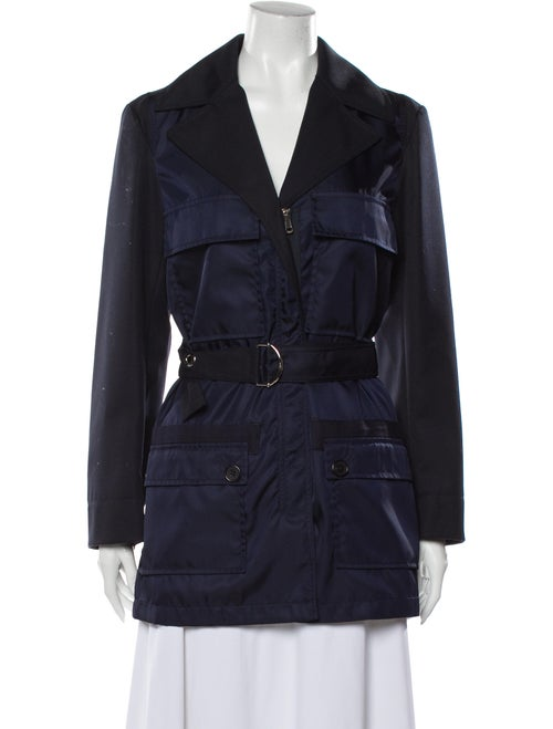 Chloé Trench Coat Blue