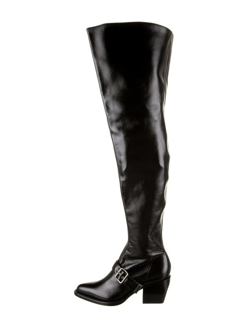 Chloé Rylee Over-The-Knee Boots Black