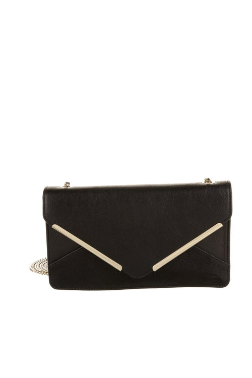 Chloé Leather Crossbody Bag Black