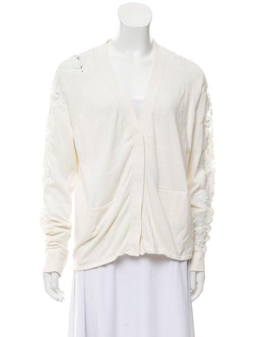 Chloé Silk-Blend Knit Cardigan