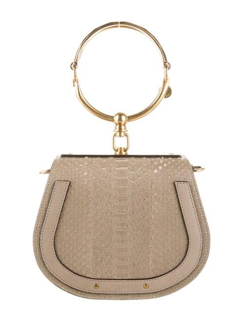Chloé Nile Python Bag Gold