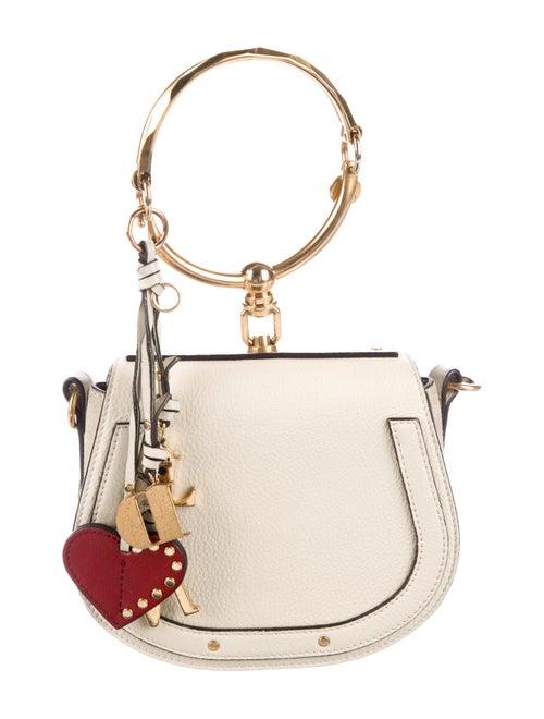 Chloé Small Nile Bracelet Bag White