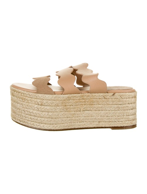 Chloé Leather Espadrilles