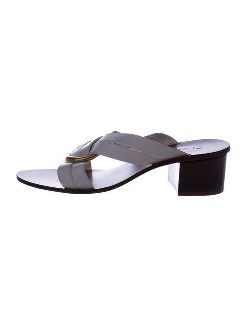 Chloé Leather Slides - image 1
