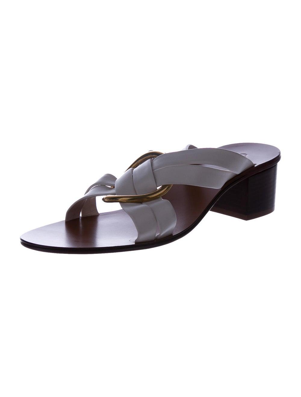 Chloé Leather Slides - image 2