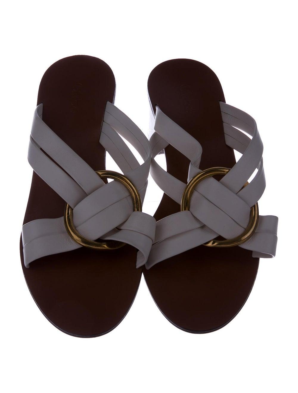 Chloé Leather Slides - image 3