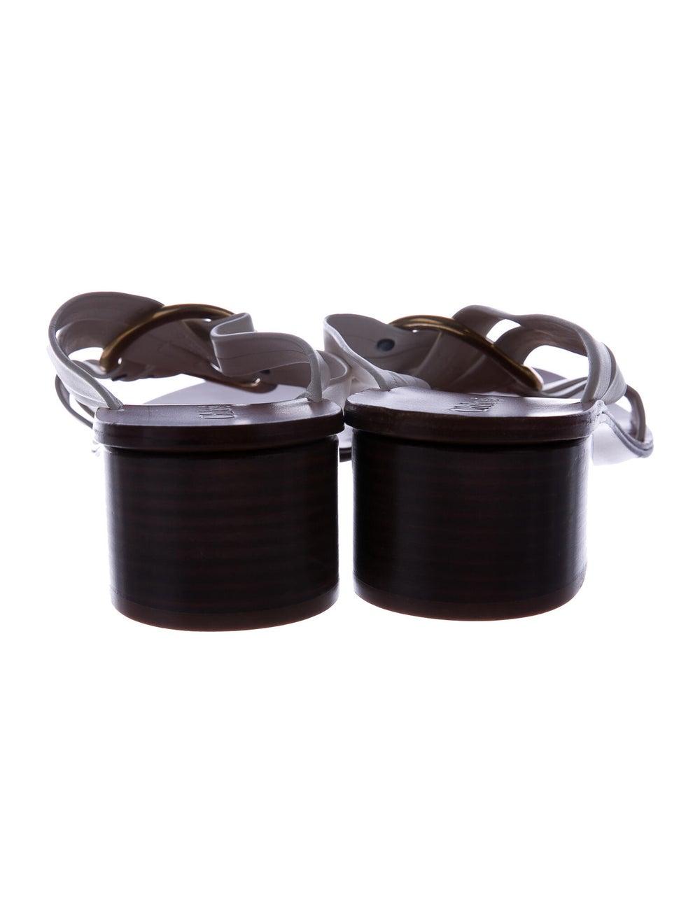 Chloé Leather Slides - image 4