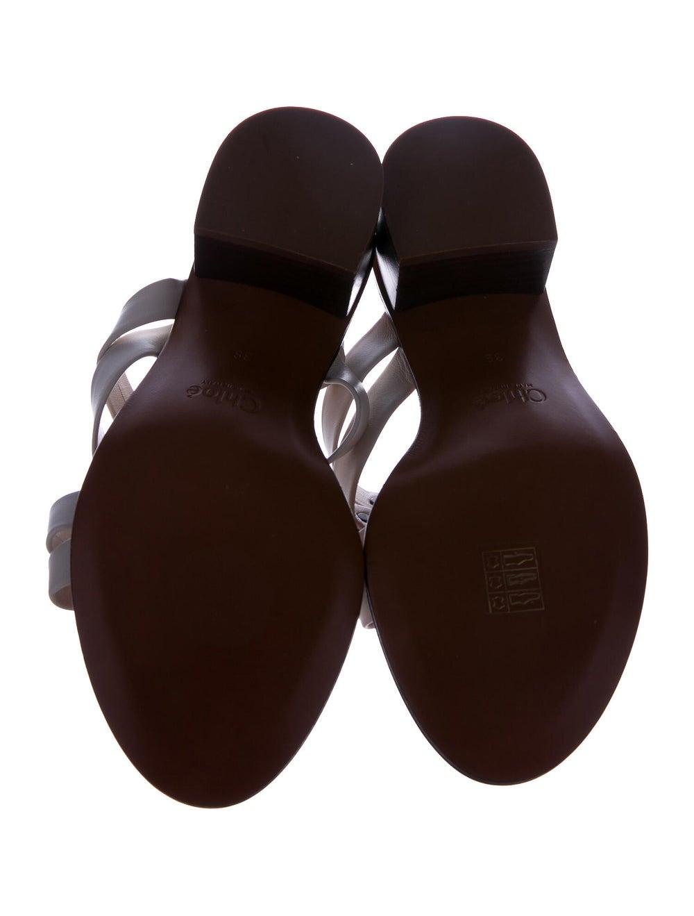 Chloé Leather Slides - image 5