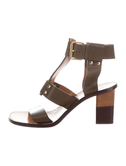 Chloé Leather Gladiator Sandals - image 1