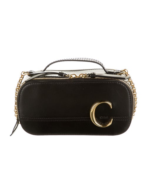 Chloé C Mini Vanity Bag Black