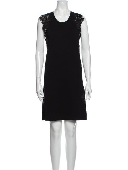 Chloé Wool Mini Dress Wool