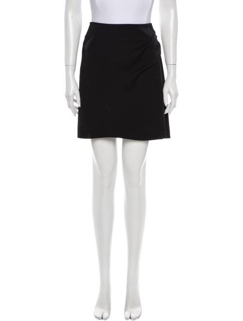 Chloé Silk Mini Skirt Black
