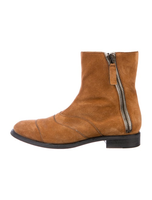 Chloé Suede Boots Brown