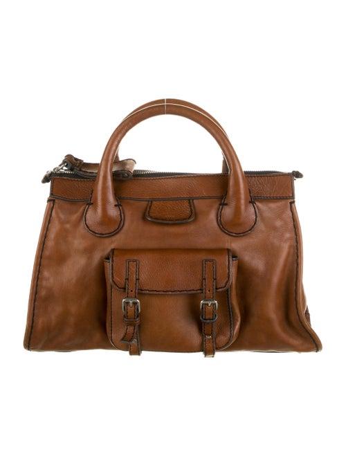 Chloé Leather Edith Bag Brown
