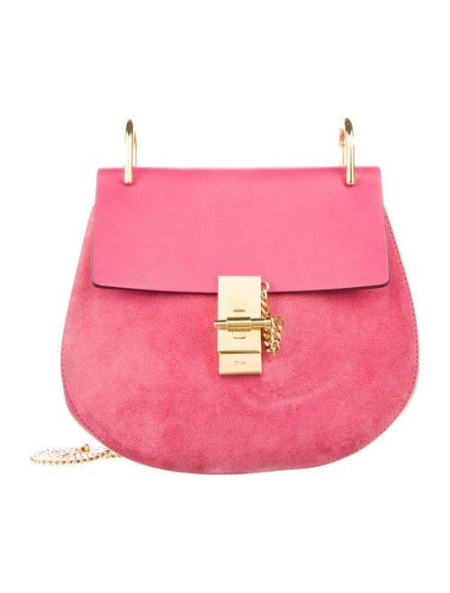 Chloé Drew Crossbody Bag Pink
