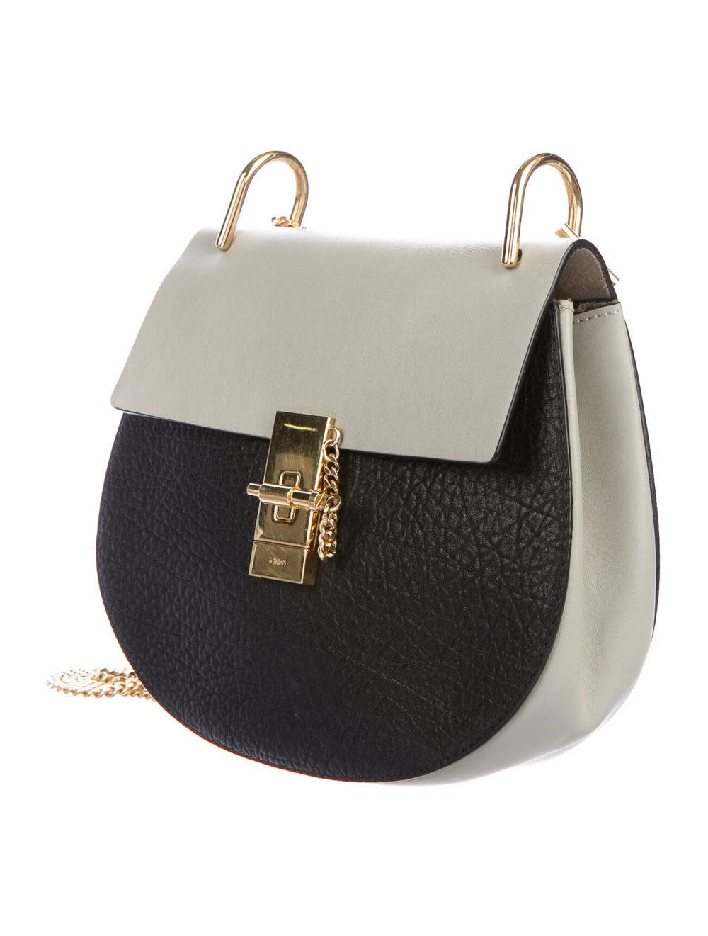 Chloé Leather Drew Crossbody Bag Black - image 3