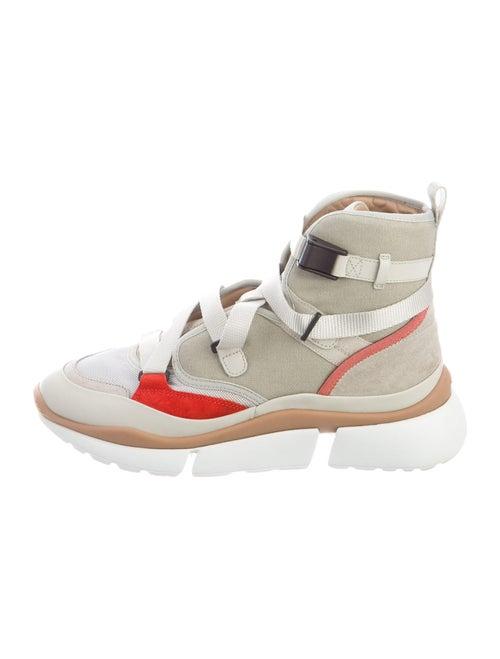 Chloé Sonnie Wedge Sneakers