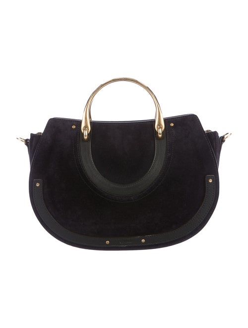 Chloé Medium Pixie Crossbody Bag Blue