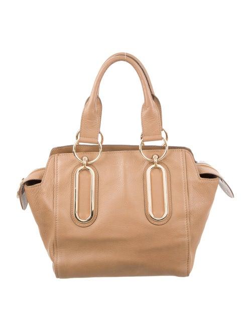 Chloé Small Paige Shoulder Bag Brown