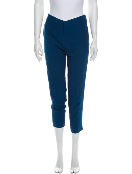 Chloé Straight Leg Pants Blue