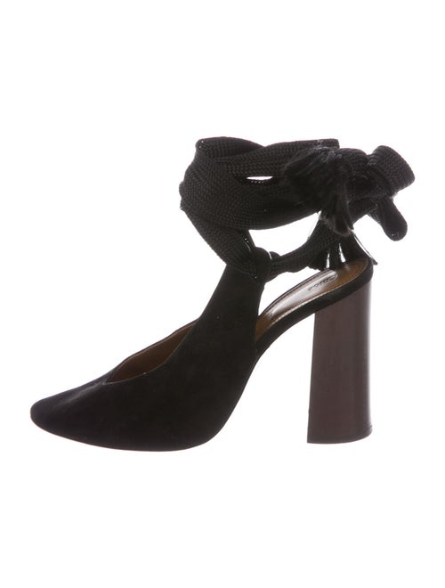 Chloé Suede Pumps Black