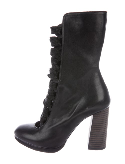 Chloé Leather Boots Black