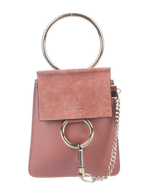 Chloé Mini Faye Bracelet Bag Purple
