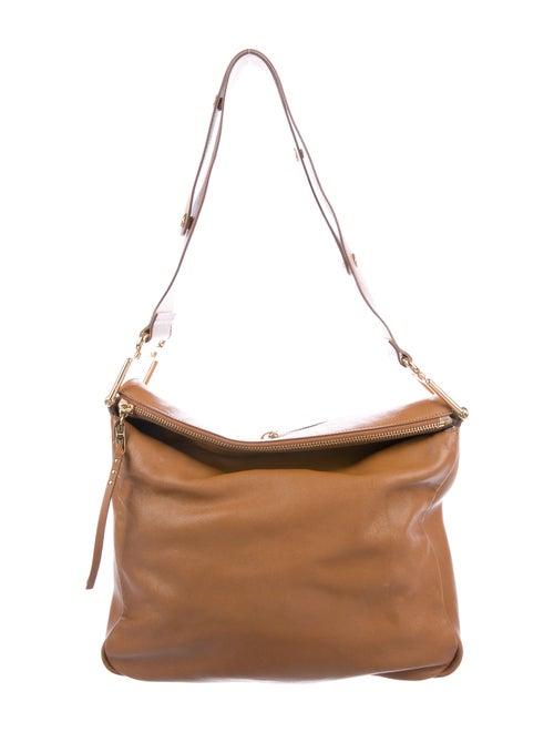 Chloé Leather Vanessa Shoulder Bag Brown