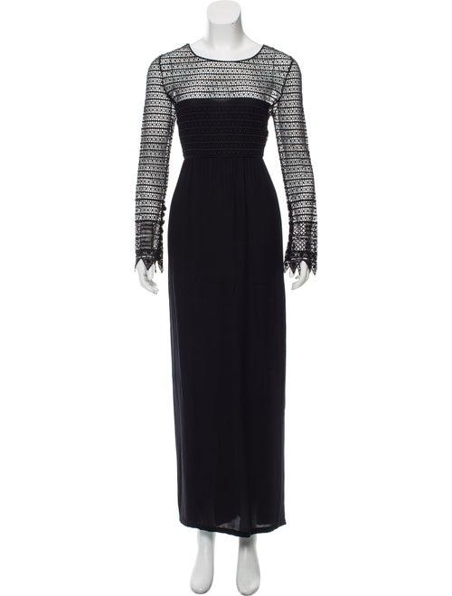 Chloé Lace Maxi Dress Black