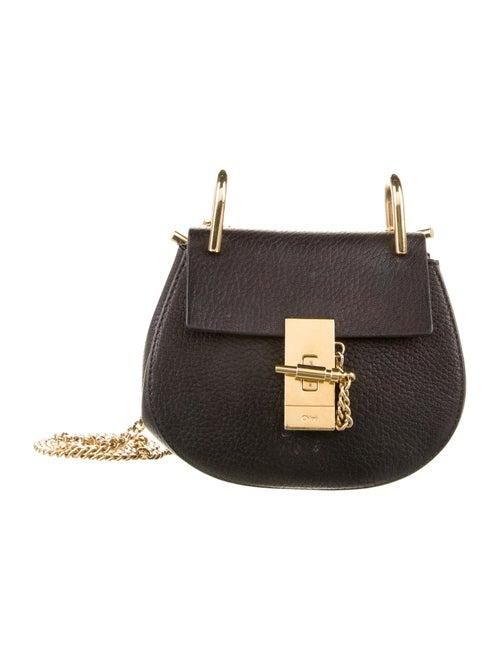 Chloé Mini Drew Crossbody Bag Black