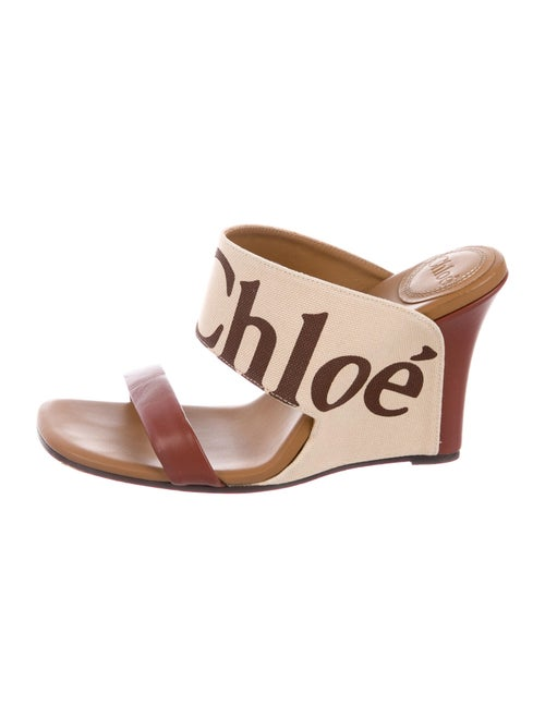 Chloé Slides Brown