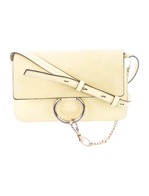 Chloé Small Faye Crossbody Bag Yellow